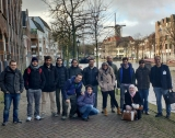 Students of the MSc in Smart Cities visit Schiedam